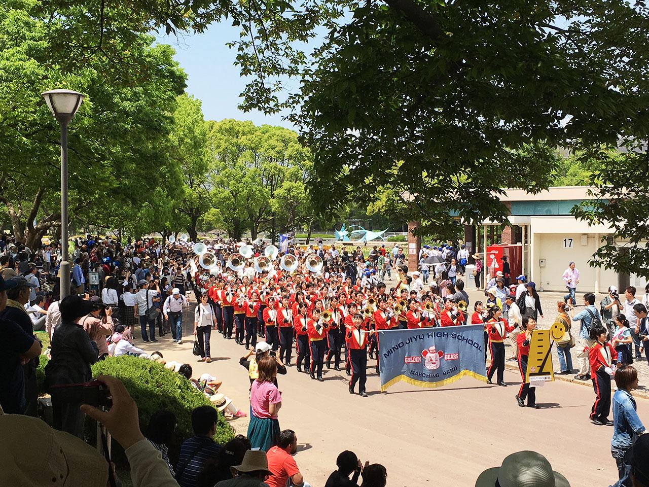 ブラスエキスポ2017パレード